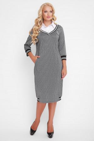 Сукня «Ека» сірого кольору