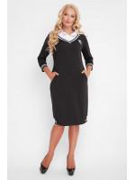 Платье «Эка» черного цвета