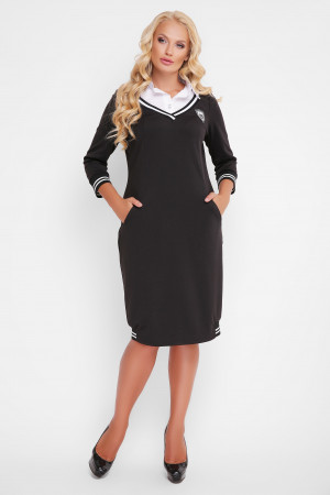 Сукня «Ека» чорного кольору