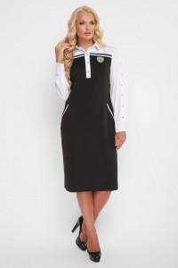 Платье «Хатия» черного цвета