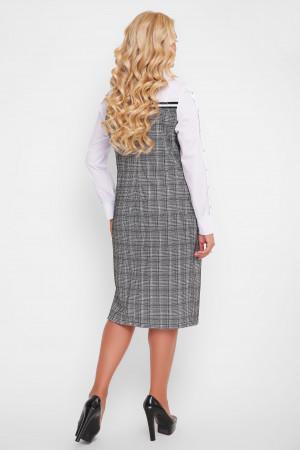 Сукня «Хатія» сірого кольору