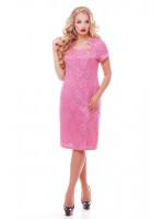 Платье «Катрин» розового цвета