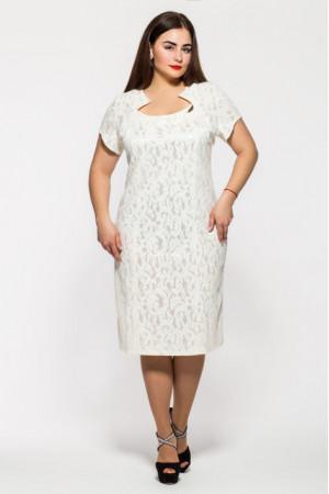 Платье «Катрин» белого цвета