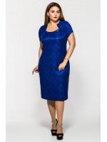 Сукня «Катрін» кольору електрик