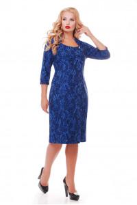 Сукня «Катрін» сапфірового кольору