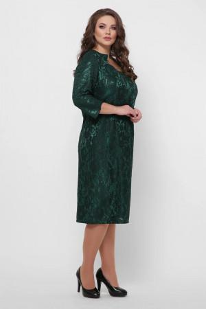 Платье «Катрин» изумрудного цвета