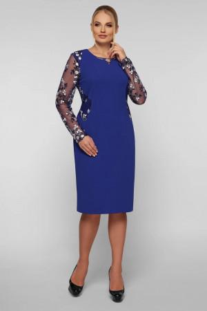 Платье «Адель» цвета индиго