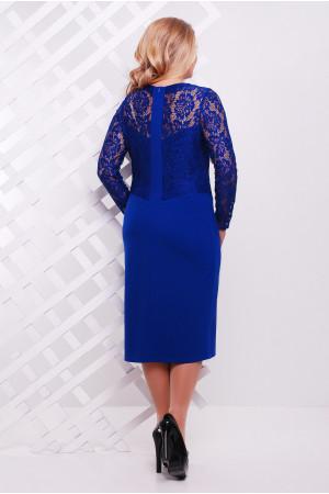 Сукня «Адель» кольору електрик