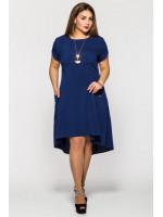 Сукня «Мілана» темно-синього кольору
