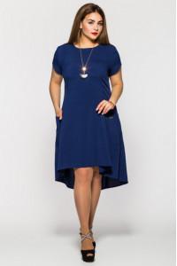 Платье «Милана» синего цвета