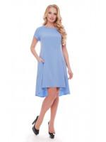 Платье «Милана» голубого цвета