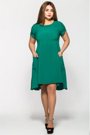 Платье «Милана» зеленого цвета