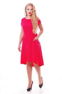 Сукня «Мілана» малинового кольору