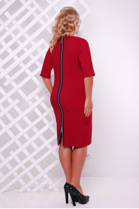 Сукня «Олівія» бордового кольору