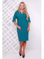 Платье «Оливия» бирюзового цвета