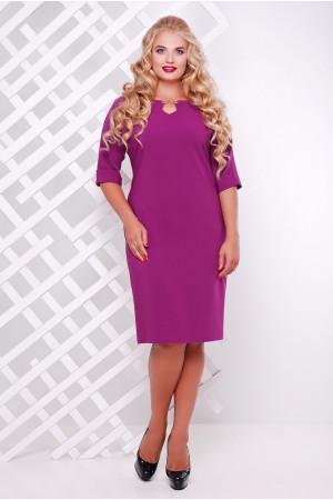 Платье «Оливия» сиреневого цвета