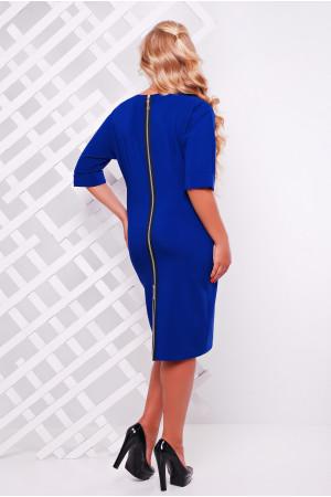 Платье «Оливия» цвета электрик