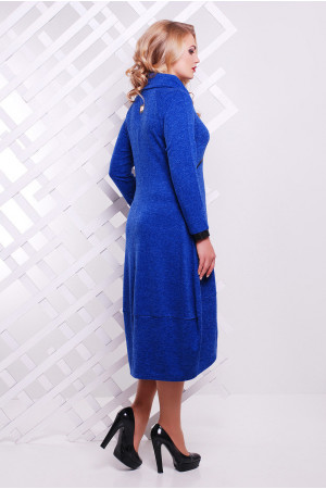 Платье «Шарлотта» цвета электрик
