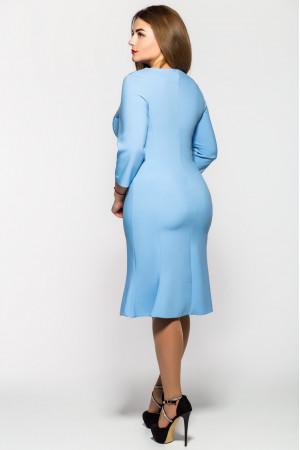 Платье «Анюта» голубого цвета
