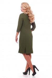 Сукня «Анюта» оливкового кольору