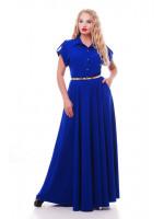 Платье «Алена» цвета электрик