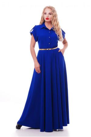Сукня «Альона» кольору електрик