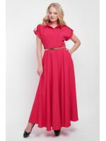 Платье «Алена» красного цвета