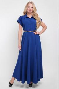 Платье «Алена» цвета деним
