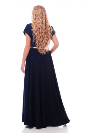 Сукня «Альона» темно-синього кольору