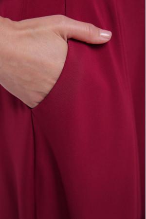 Сукня «Альона» бордового кольору