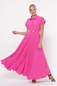 Платье «Алена» розового цвета