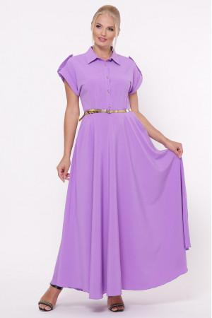 Платье «Алена» лавандового цвета