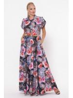 Платье «Алена» принт небо