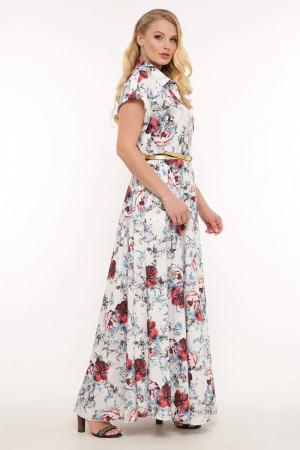 Сукня «Альона» білого кольору