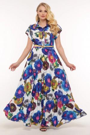 Платье «Алена» с цветами