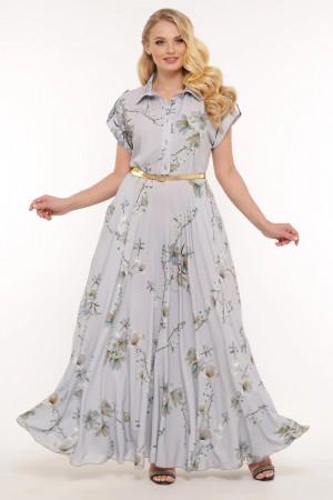 Платье «Алена» пепельного цвета