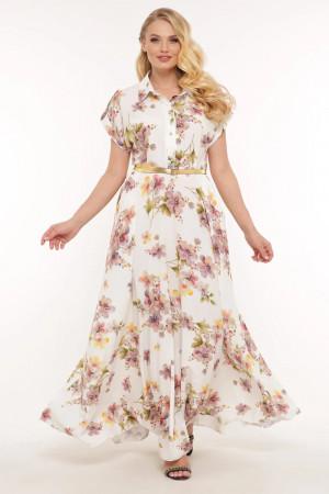 Сукня «Альона» з літнім принтом