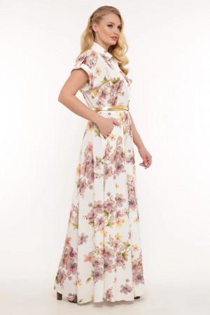 Платье «Алена» с летним принтом