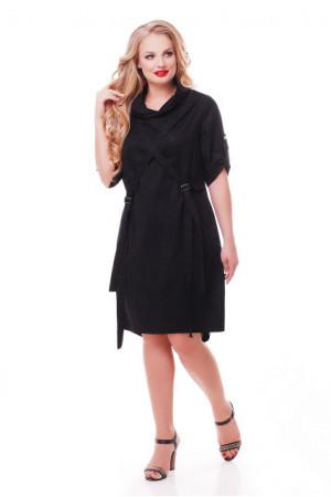 Платье «Берта» черного цвета