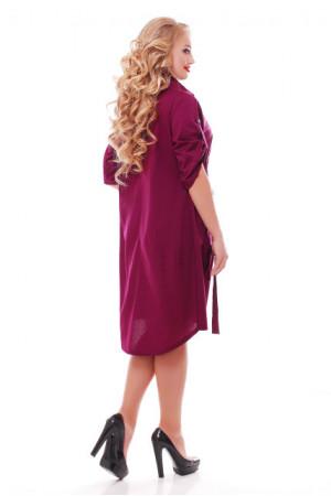 Платье «Берта» цвета фуксии