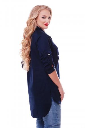 Сорочка «Стиль» синього кольору