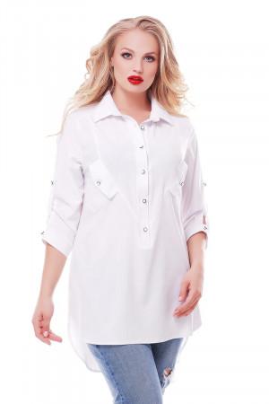 Рубашка «Стиль» белого цвета