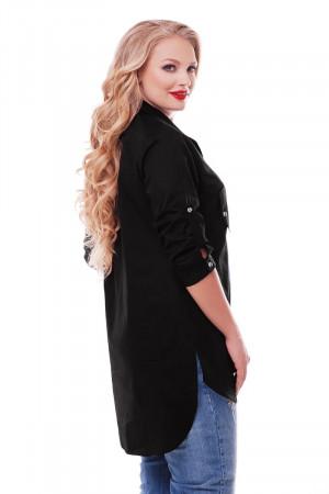 Сорочка «Стиль» чорного кольору