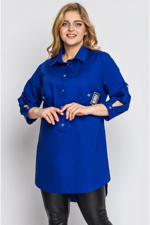 Рубашка «Стиль» цвета электрик