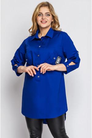 Сорочка «Стиль» кольору електрик