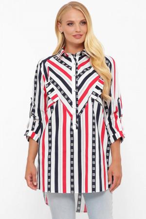Рубашка «Стиль» в полоску
