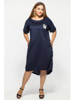 Сукня «Бріджит» темно-синього кольору