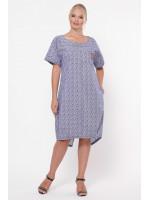Платье «Бриджит» цвета деним
