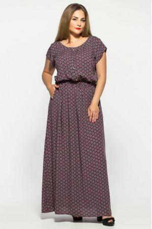 Сукня «Влада» з ромбічним принтом