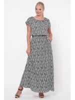 Сукня «Влада» принт зебра